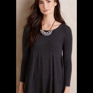 Anthropologie Ribbed Empire Tunic